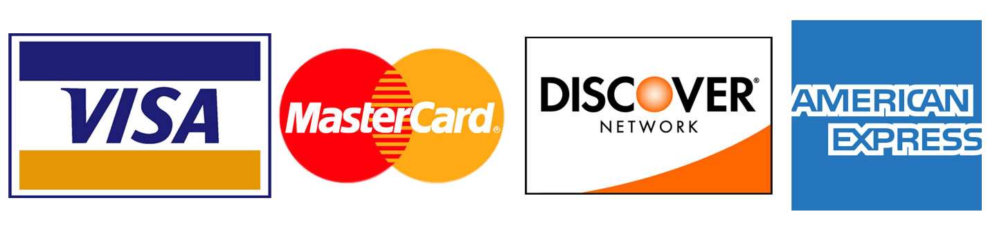 Major Credit Card Logos